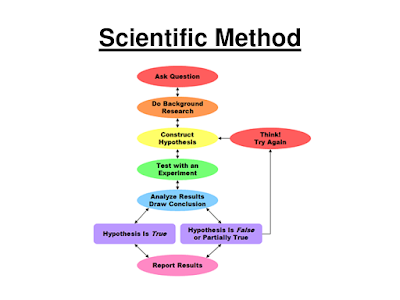 Scientific Method Illustration - Source: University of New Hampshire - http://libraryguides.unh.edu/c.php?g=326686&p=2190842