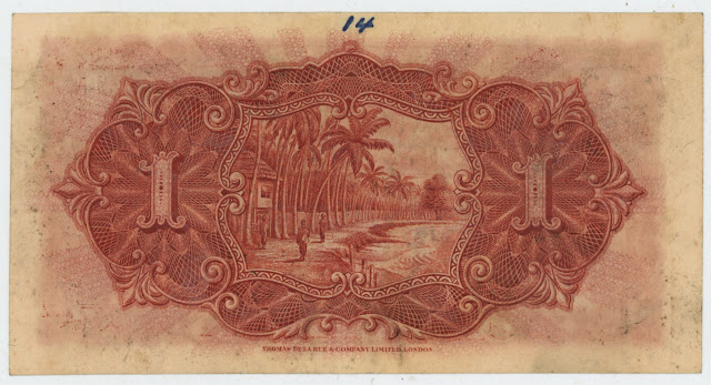 Straits Dollar bank note Straits Settlements bills