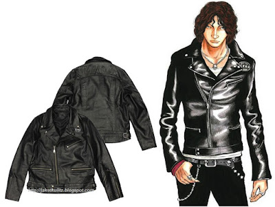 Gambar Jaket Kulit The Front of Armament