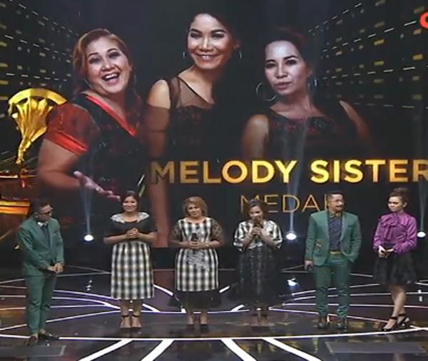 melody sister Golden Memories Indosiar Tadi Malam 13 Agustus 2016