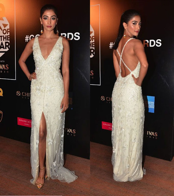 Pooja Hegde at GQ Men of the Year Awards 2016