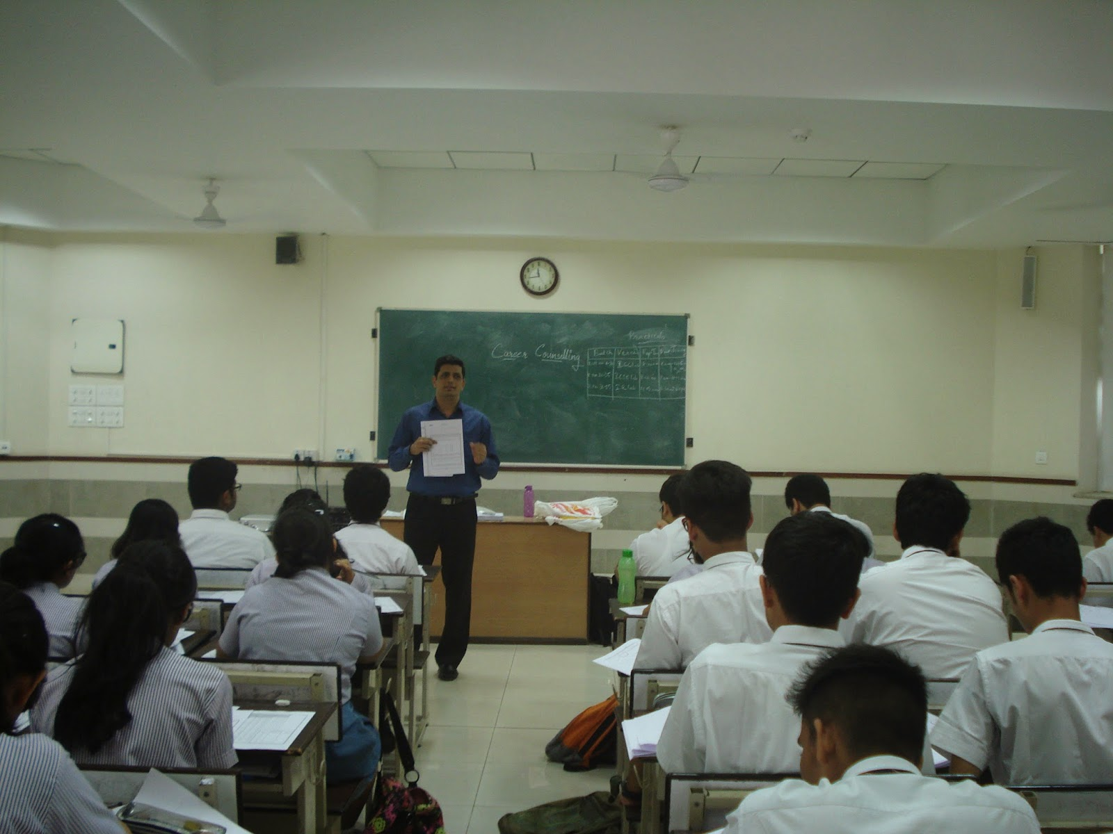 Aptitude Testing for Career Planning at Hiranandani Foundation School