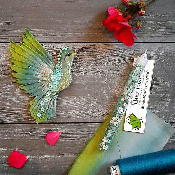 broszki ptaszki diy i film