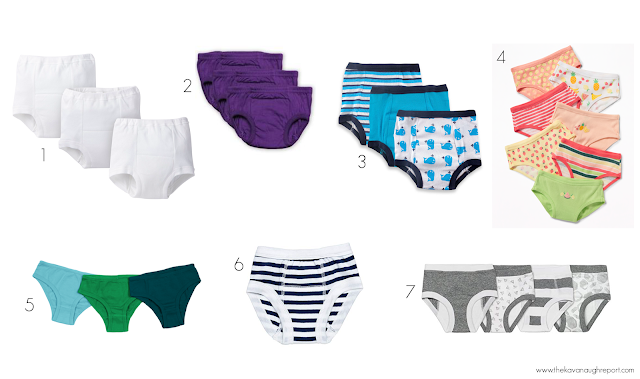 Non-commercialized, Montessori friendly training pants and toddler undies for potty training or toilet learning.