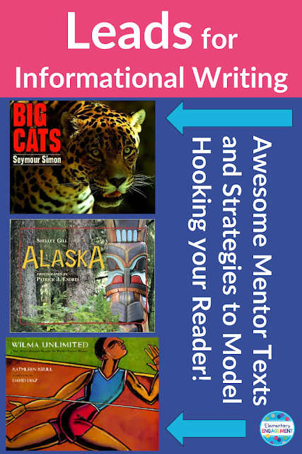Using mentor texts to compose strong leads for informational writing
