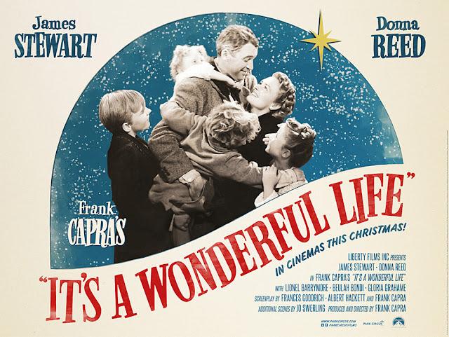 Ένα αφιέρωμα στο Μια Υπέροχη Ζωή του Φρανκ Κάπρα... η αφίσα της ταινίας