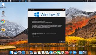 Hướng dẫn cài đặt giao diện theme macOS High Serria cho Windows 10