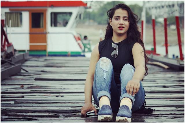 Actress and Model Nazre Inayat khan