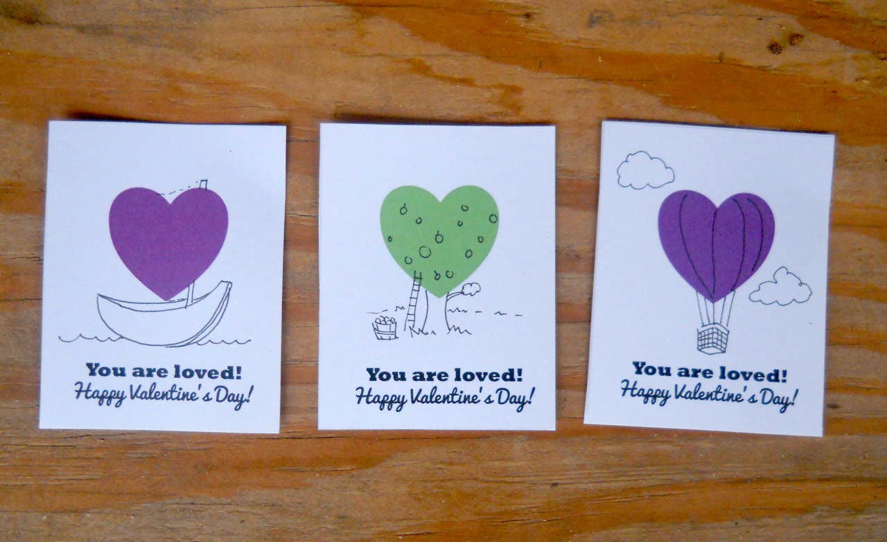 We Wilsons Print And Draw Valentines