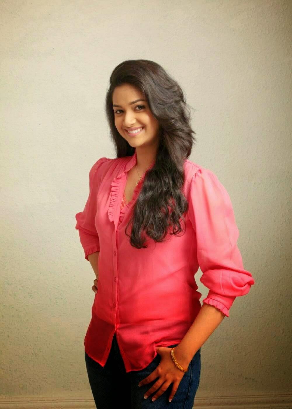 Keerthi Suresh Latest Stills  Indian Girls Villa - Celebs Beauty, Fashion And Entertainment
