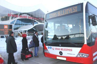 Sivas Havaalanı Otobüs Sefer Saatleri