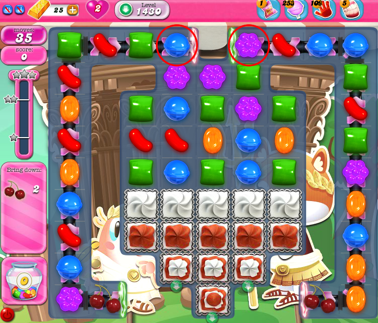 Candy Crush Saga 1430