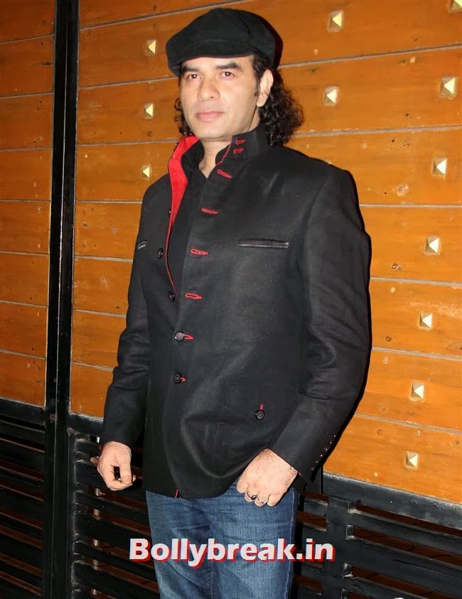 Mohit Chauhan, Filmfare Awards 2014 Red carpet Images