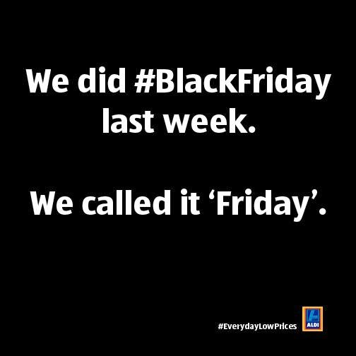 Aldi Black Friday Ad