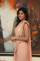 Eesha Rebba in beautiful peach saree at Darshakudu pre release ~  Exclusive Celebrities Galleries 036.JPG