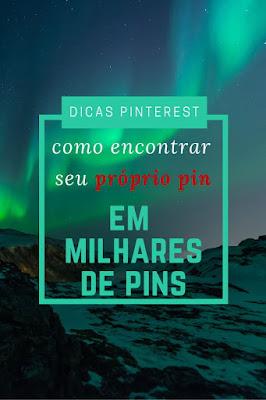 como buscar pins no Pinterest