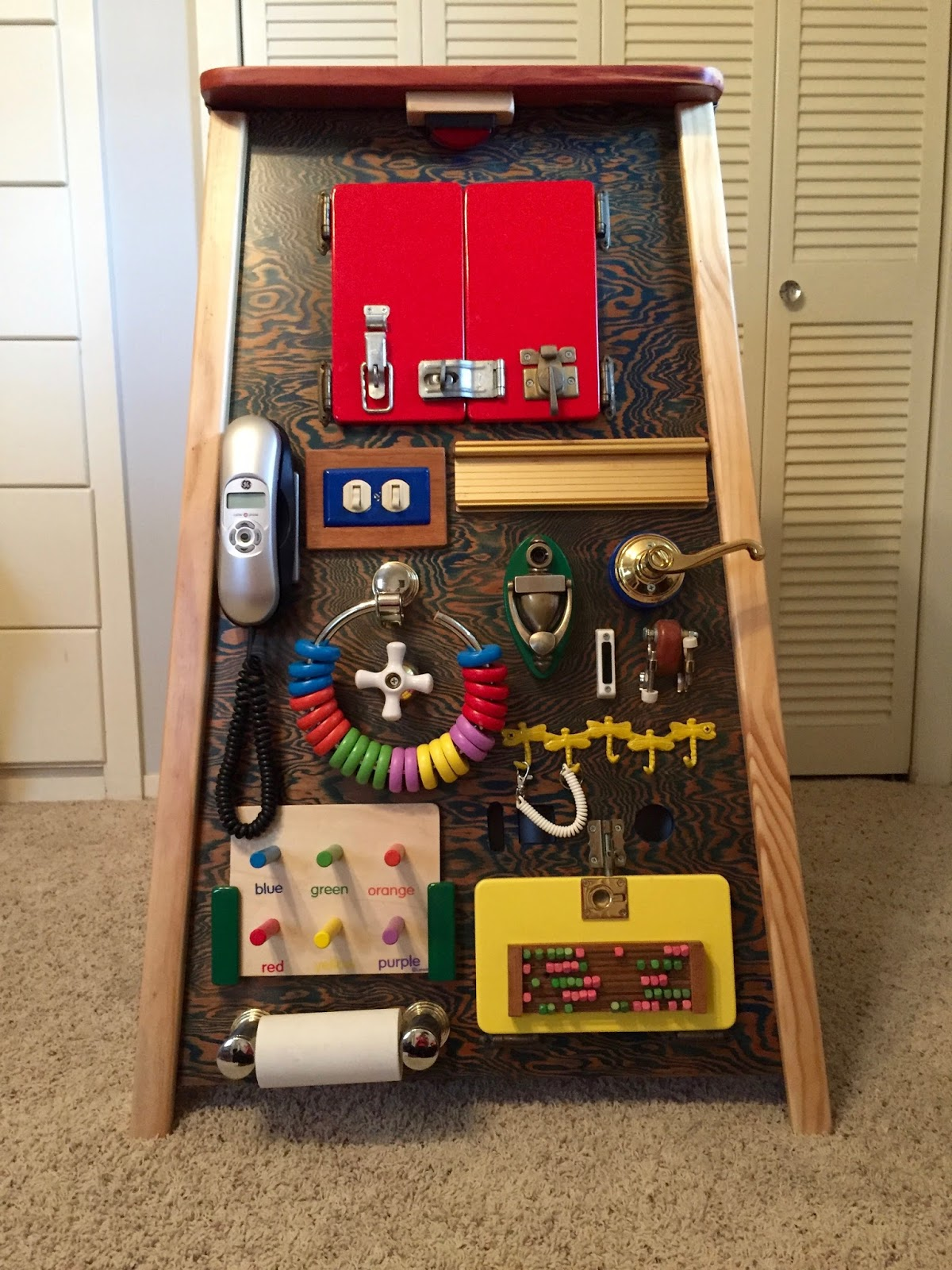 Life As A Sias The Ultimate Toddler Busy Board