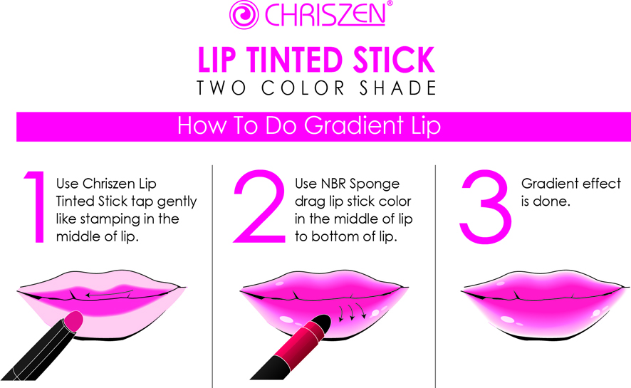 CHRISZEN LIP TINTED STICK | BEAUTY KIOSK