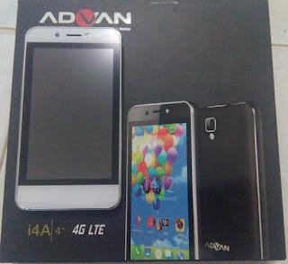 Spesifikasi dan Harga HP Advan i4A