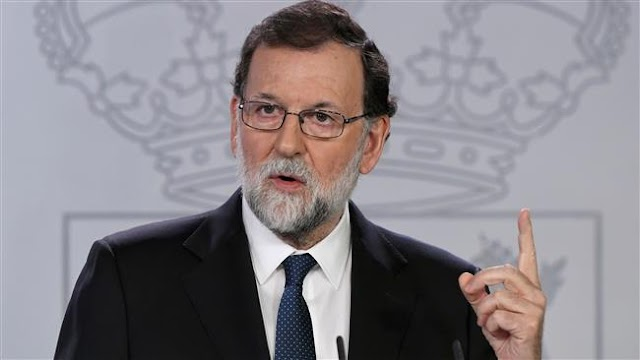 Spain to dismiss Catalan government, hold new elections: Spanish Prime Minister Mariano Rajoy