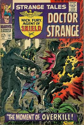 Strange Tales #151, Nick Fury