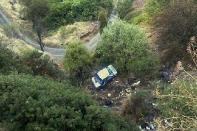 59χρονος έχασε τη ζωή του στη Μάνη όταν το αυτοκίνητό του έπεσε σε γκρεμό
