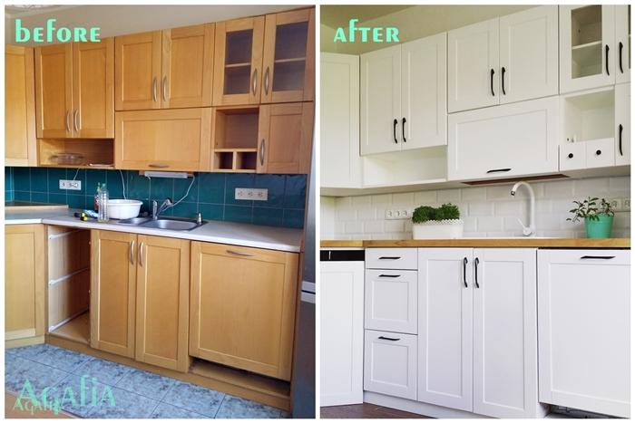 przed i po meble kuchenne
