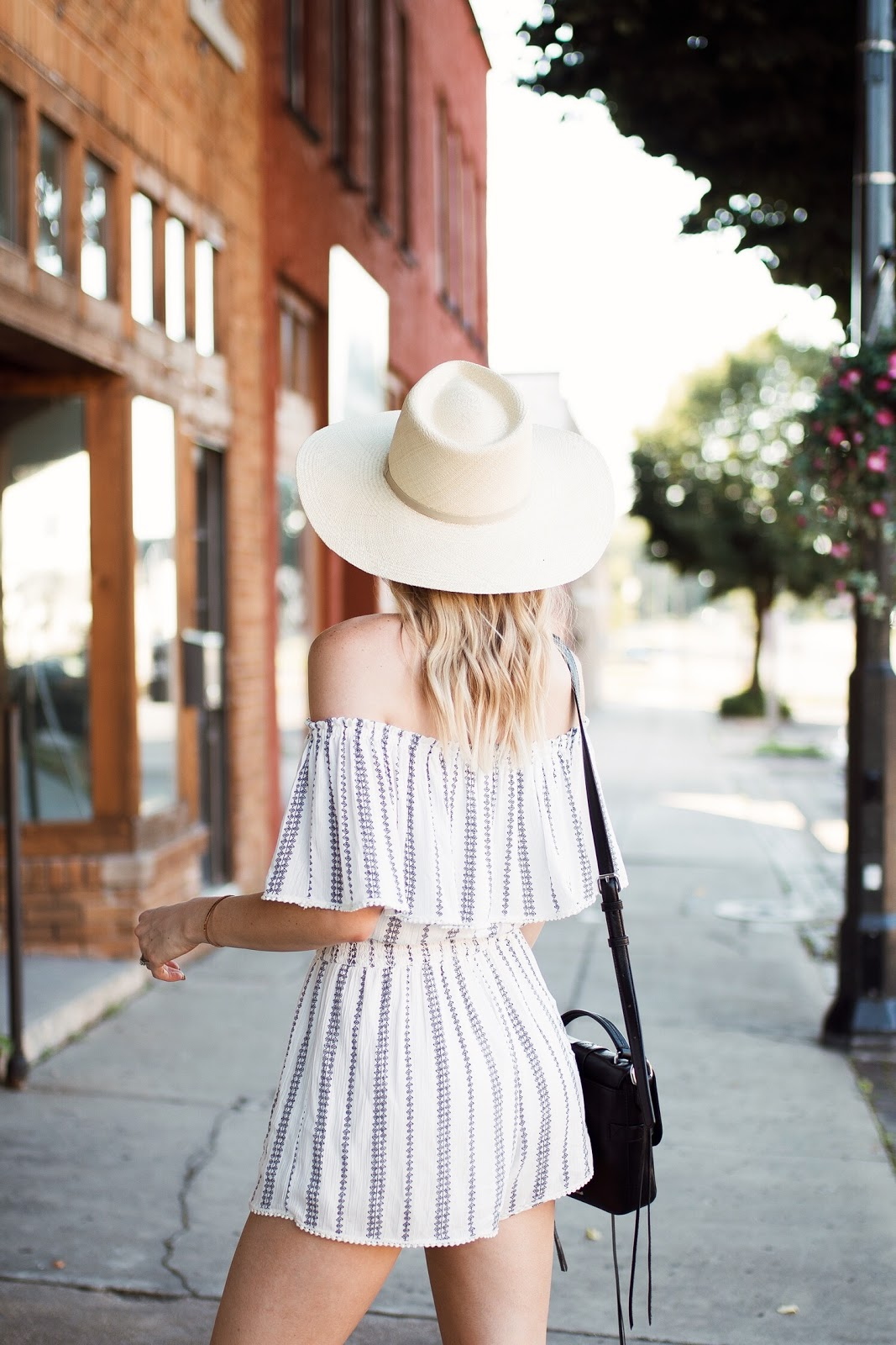Cuyana straw hat
