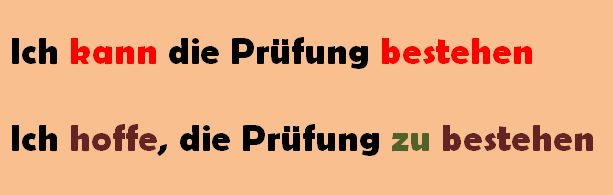 grammatik infinitivstze - Infinitivsatze Beispiele