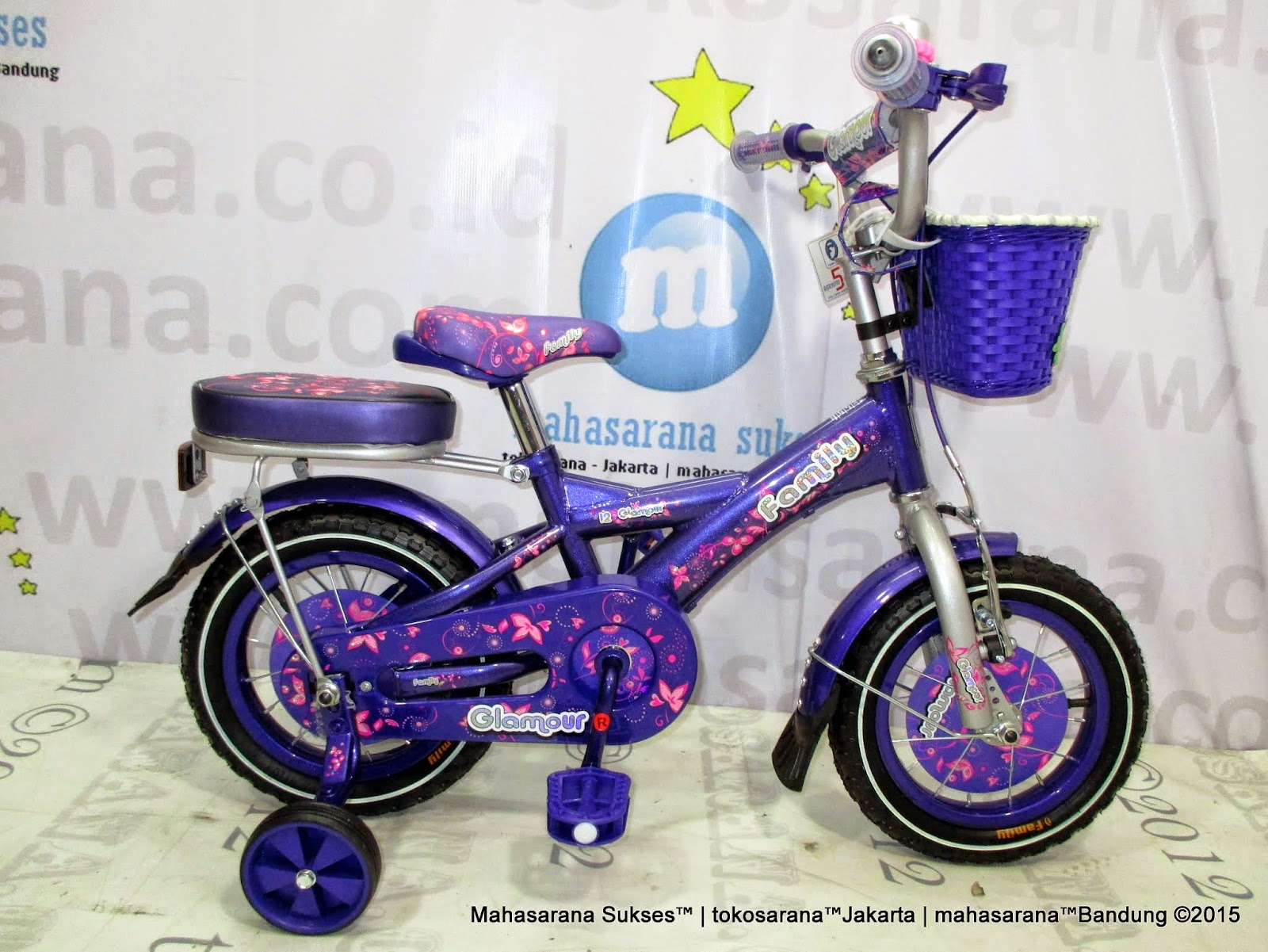 tokosarana™Jakarta Jatinegara: Sepeda Anak Family Glitter