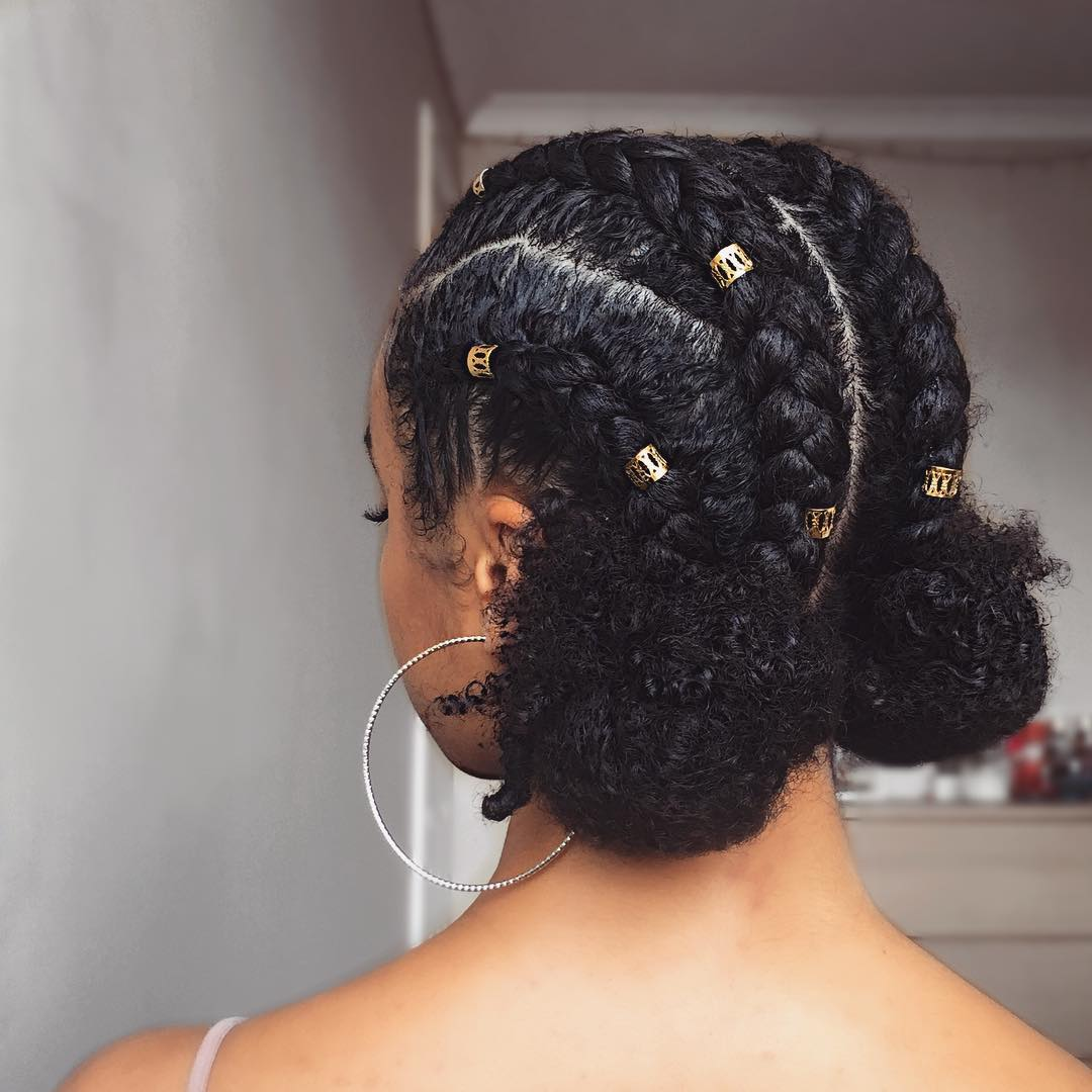 10 Easy Natural Hairstyles For The Holiday Mane Tresses
