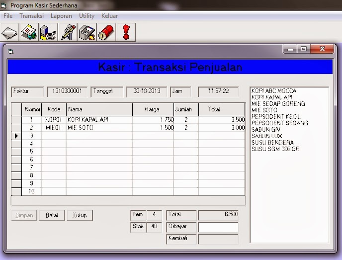 Contoh Laporan Pengamatan Di Perpustakaan Contoh Laporan Visual Basic 6 0 Gontoh Perangkat
