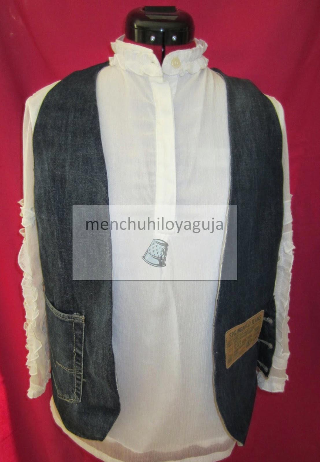 Las medidas del jeans son de cintura 80 cm. y de largo 8b0453d62226