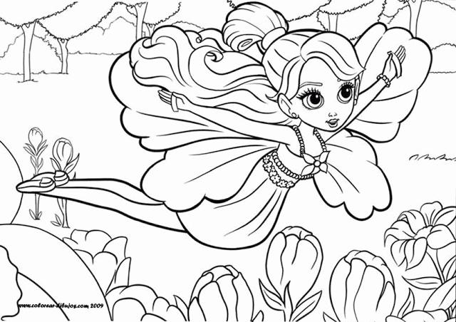 Maestra De Primaria Dibujos De Barbies Para Colorear O