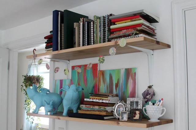 art studio, work space, storage, studio, office, Anne Butera, My Giant Strawberry