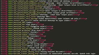 Cara menganti bahasa aplikasi android (menggunakan decompile dan recompile)