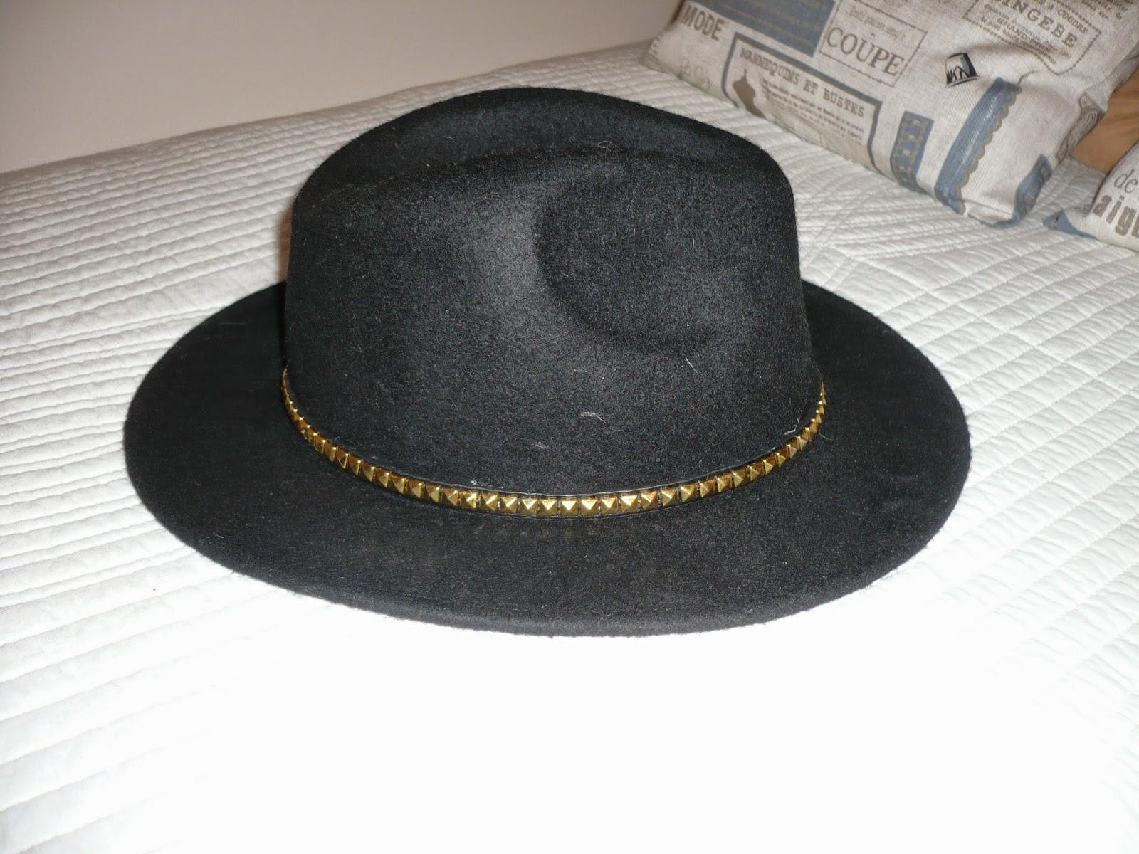 Marujeando que es gerundio  Truco para empequeñecer un sombrero 4add8e637b5