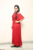 Poorna in Maroon Dress at Rakshasi movie Press meet Cute Pics ~  Exclusive 173.JPG