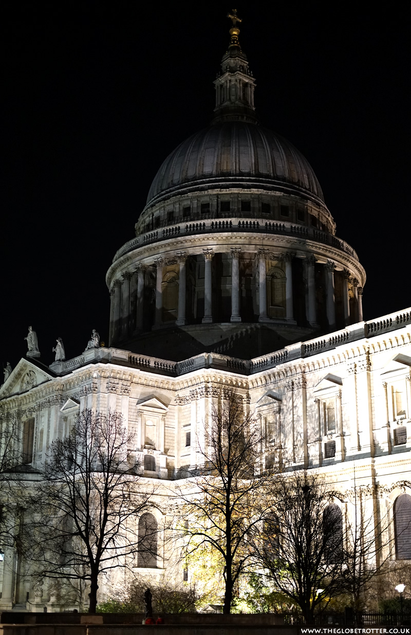 St. Paul's Cathedral - London At Night