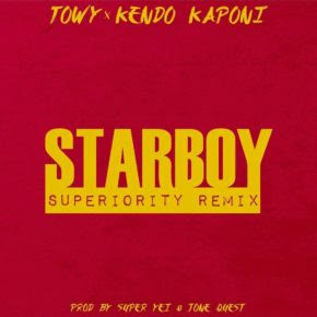 """Kendo Se Unió a Towy Para Estrenar Versión De """"StarBoy"""""""