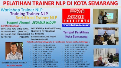 Sertifikasi NLP Trainer di Kota Semarang Jawa Tengah