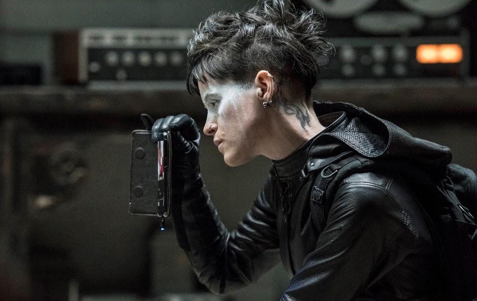 """Lisbeth encara seu passado no 2º trailer de """"Millenium: A Garota Na Teia de Aranha"""""""