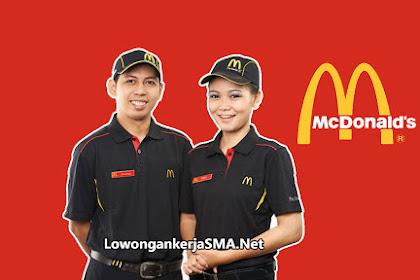 Lowongan Kerja SMA di Crew McDonald's Indonesia 2019
