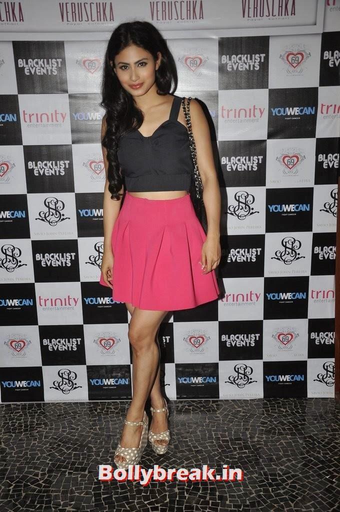 Mouni Roy, Gauahar Khan, Kushal Tandon, Sonal Chauhan & Karishma Tanna Snapped at Nitya Bajaj Fashion Show