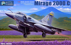 Build Review Pt. I - Kitty Hawk's 32nd scale Dassault Mirage 2000C