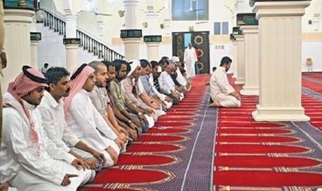 Umat Islam Sedang Yang Melaksanakan Shalat Berjamaah