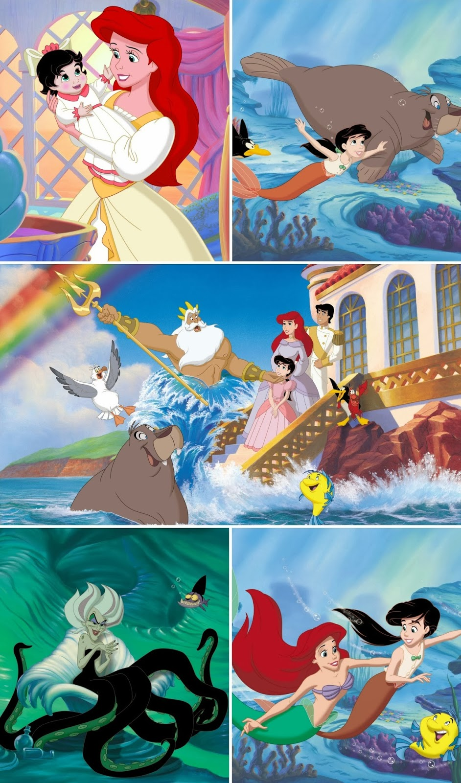 Thanks, Mail Carrier | The Little Mermaid II & Ariel's ...