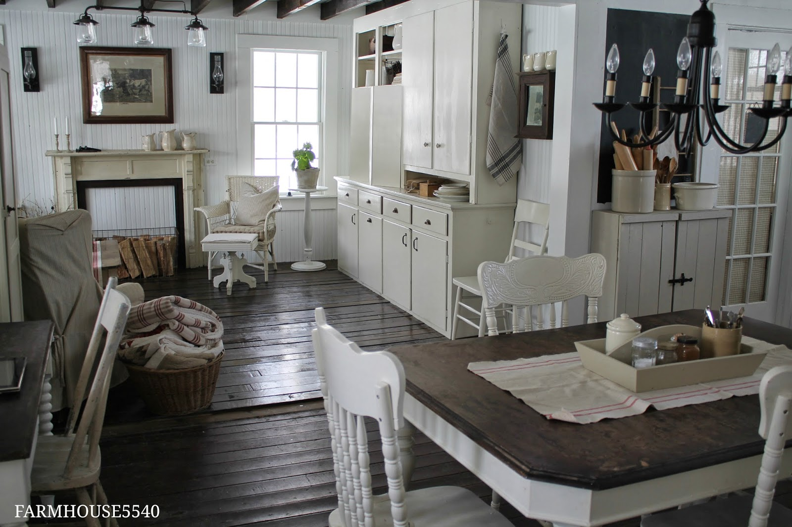 Kitchen Sink At Lowes Banquettes Farmhouse 5540: Family Room Part Three