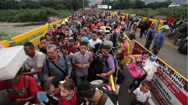 Los países que más venezolanos han recibido por causa de la crisis