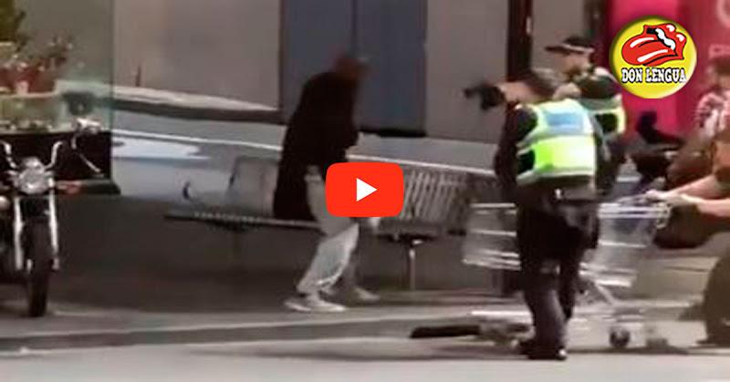 Delincuente acuchilló a varias personas en Australia y la policía le disparó